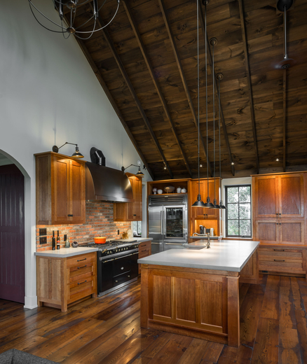 Smith & McClain, Charlotte Lake View Kitchen