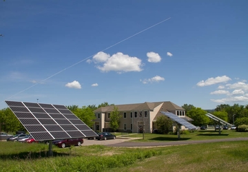 Solar panel installation by Smith & McClain in Vermont